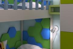 Pokój dla chłopców - na łóżka i szafki nocne
