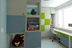 Pokój dla chłopców - od wejścia