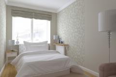 Sypialnia - na okno