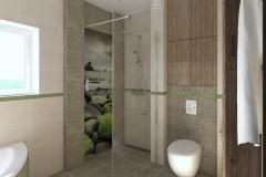 RUM_Modrzewiowa_aranżacja _łazienka pietro wizka_Z pryszn w strone drzwi