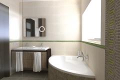 RUM_Modrzewiowa_aranżacja _łazienka pietro wizka_z prysznica na umywalkę