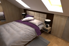 Sypialniana poddaszu