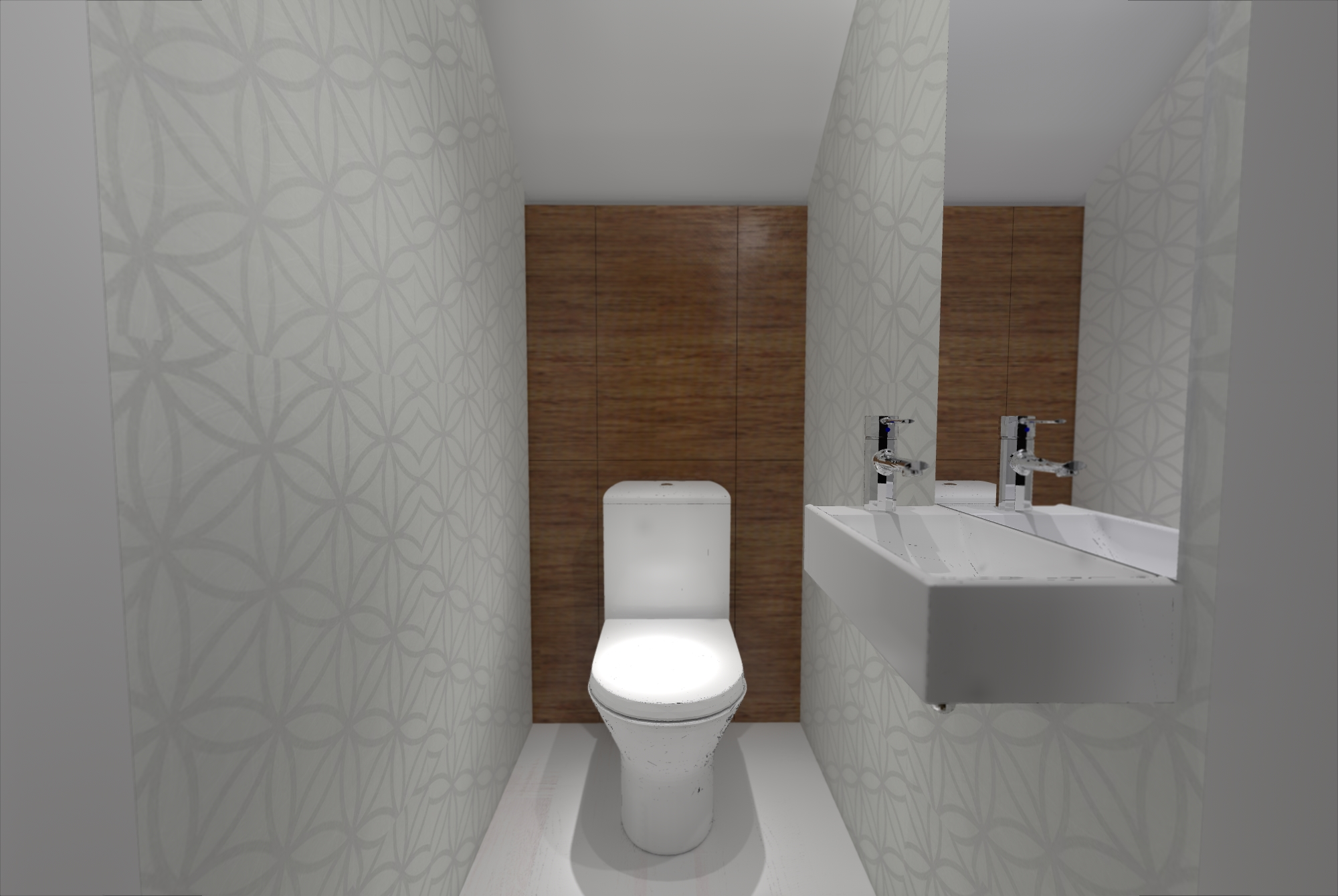 Gdynia Kettlinga Toaleta Pod Schodami Chatanowa Aranzacja