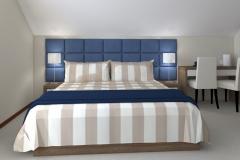 REWA_ plażowa1A _pokó-jasna wykładzina_G2 na łóżko - wieczorem sztuczne ość