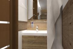 REWA_ plażowa1A aranżacja KAFLE_INALCO 99x32-mat_G1-na umywalkę z wc